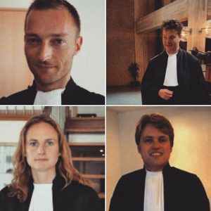 mr. Eric Koolen(links boven) mr. Gerrit Mulder(rechts boven) mr. Marion Haring(links onder) mr. Wout Albers(rechts onder)